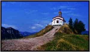 The church on the hill by bugsbunny90
