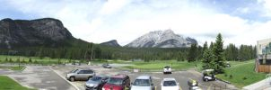 Banff Nation Park/Golf Course by JesseGoesRawr4