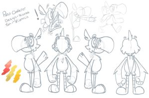 Parrot Caracter turnaround by Rizatch