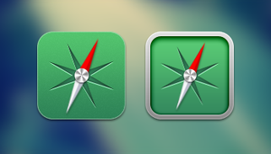 iOS Safari/Midori Icons by Shourijo