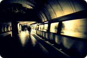 DC subway by EmmaHillPhotography