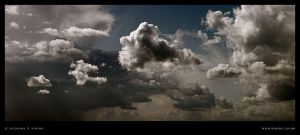 Bedfont Clouds Panorama 3 by Deviant-Darkr