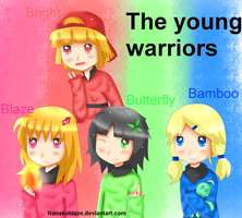 those young warroirs by NanakoBlaze