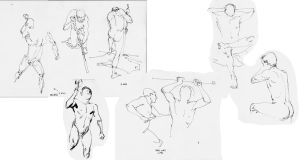 Short Poses by dogmeatsausage