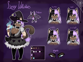 Lizzy Whiskers - Official ref! by snooziewoo
