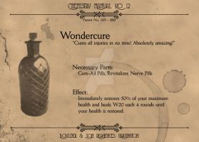 Chemistry Manual: Wondercure by Machina-Obscura