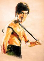 Bruce Lee by FrankGo