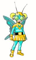 BUTTERFLY girl by Wieringo