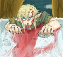 Bloody Link - Colored by RoroZoro