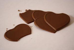 Chocolate Hearts. by sophie-x3
