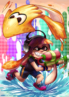 Ahead of the Curve - Splatoon by Izuma