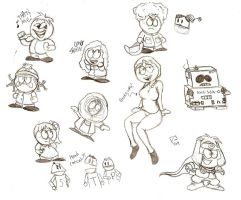 South Park Doodlies 2 by dustindemon