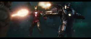 Iron Man and War Machine by Thrumm