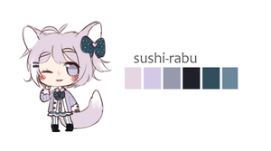Palette Adopt- sushi-rabu 2/2 by CrybabyPippo