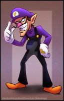 Commission - Waluigi by RatchetMario