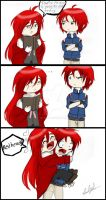 Grell vs Party Poison by Eilyn-Chan