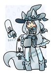 Waterfox Witch Adopt - OPEN by kuroeko-adopts