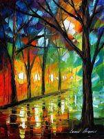 Emotional collage by Leonid Afremov by Leonidafremov