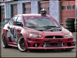 Mitsubishi Evo X APR by Rugy2000