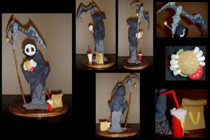 Father's Son Sculpture by Darmael