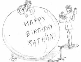 Happy Birthday Rathani - 2006 by dwarfpriest