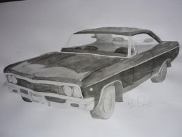 Chevy Impala by RememberingChildhood