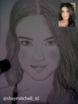 Shay Mitchell by coretandian