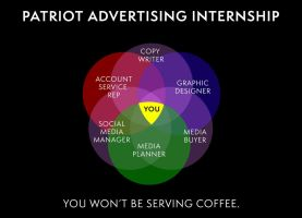 Houston, TX: Patriot Advertising Internships by turnerstokens