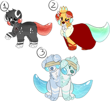 Little puppies auction batch 2 by qunpowder