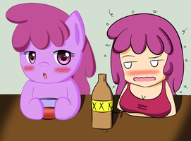 Drunk Punch by PokuMii