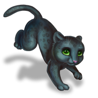 little black panther for lexenok by Stasushka