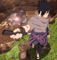 Sasuke Off to Battle by 3spn4life