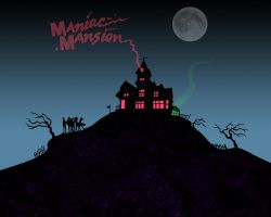 Maniac Mansion wallpaper by jhroberts