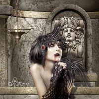 The Pale Beauty from the Cript... by vampirekingdom