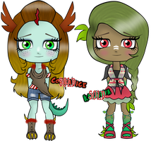 Monster High Adoptables by MarianasMasterpiece
