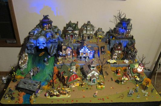 Halloween Village 2015! by MiniCarly