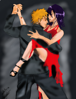 ichiruki: dancer in the night by ptitvio