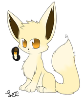 Fennec fox adoptable by Letipup