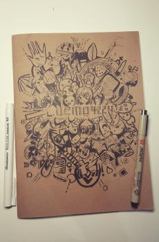 My New Doodle Art! (Succes) by demo4224