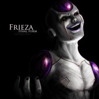Frieza Final Form by Geokeeno