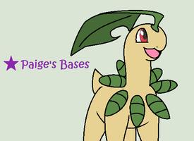 Bayleef Base by Paige-the-unicorn