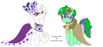 Princess Platinum and Clover the Clever by star3catcher