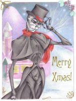 My 2007 Christmas Card by Violette-Aner