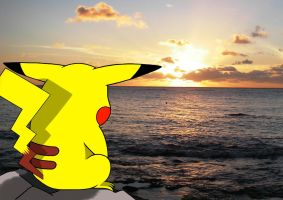 Plz Come Back... -Wallpaper- Pikachu by Mega-X-stream
