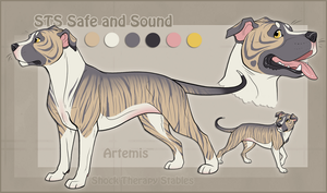STS Dog- Artemis by ShockTherapyStables