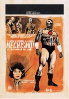 MECHISMO pinup from Grindhouse by RobertHack