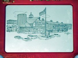 Stew Leonard's of Danbury, CT Etch-a-Sketch by bryanetch