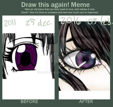 Draw this again meme by Nicuin