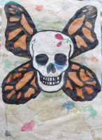 skull butterfly by IamNasher