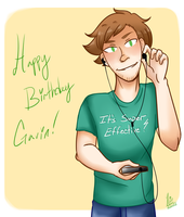 Happy Birthday Gavin!! by VespaAngelYukino